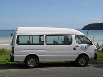 Van Hire Great Barrier Island